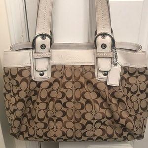 Authentic Coach large purse